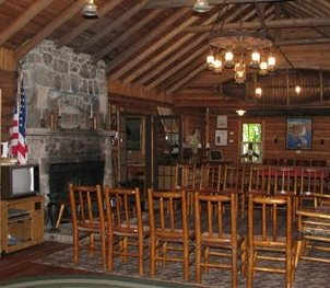 Inside Manitou Lodge