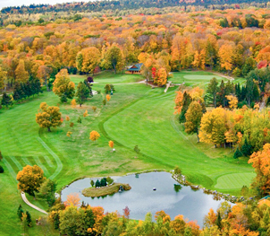 Golf Course Aerial- Hiawatha Sportman's Club